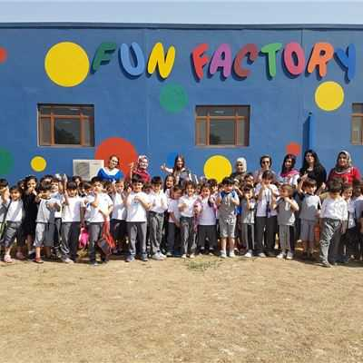 Sarwaran Students Visit Fun Factory
