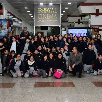 Sarwaran Students Go to the Cinema