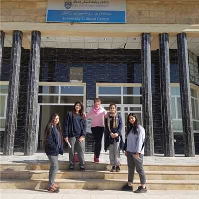 Sarwaran Students Visit Art Exhibition