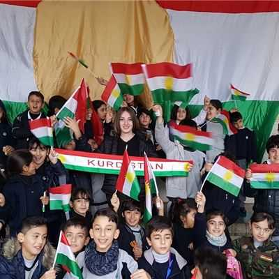 KURDISH FLAG DAY AT SARWARAN