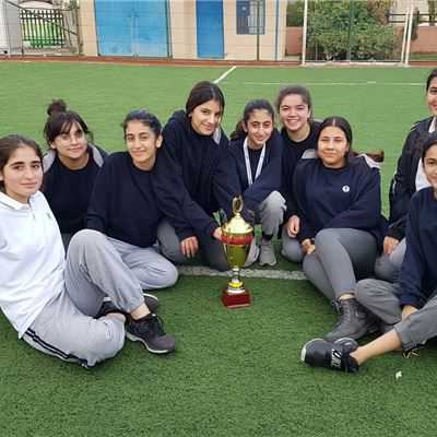 SARWARAN GIRLS TAKE PART IN FOOTBALL TOURNAMENT