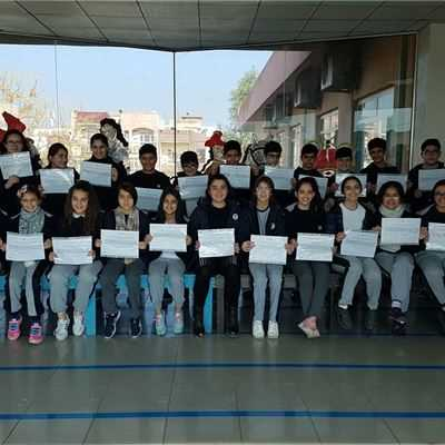 SARWARAN STUDENTS RECEIVE TERM 1 ACADEMIC CERTIFICATES