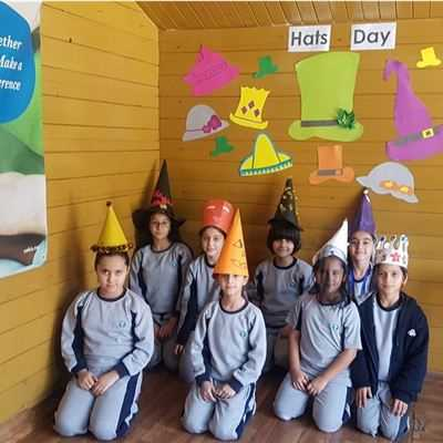 SARWARAN STUDENTS PARTICIPATE IN HAT DAY