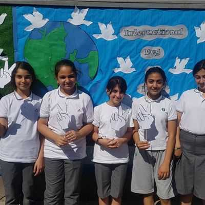 SARWARAN STUDENTS CELEBRATE INTERNATIONAL DAY OF PEACE
