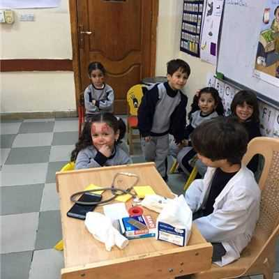 SARWARAN IS KG.2 STUDENTS ENJOY ROLE PLAY GAME
