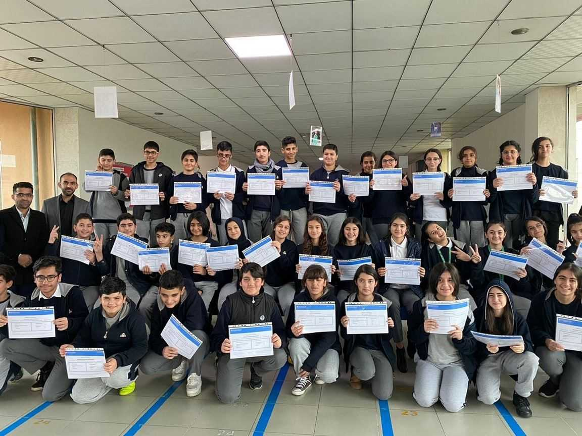 SARWARAN IS GR.7 STUDENTS AWARDED WITH CIPP CERTIFICATION