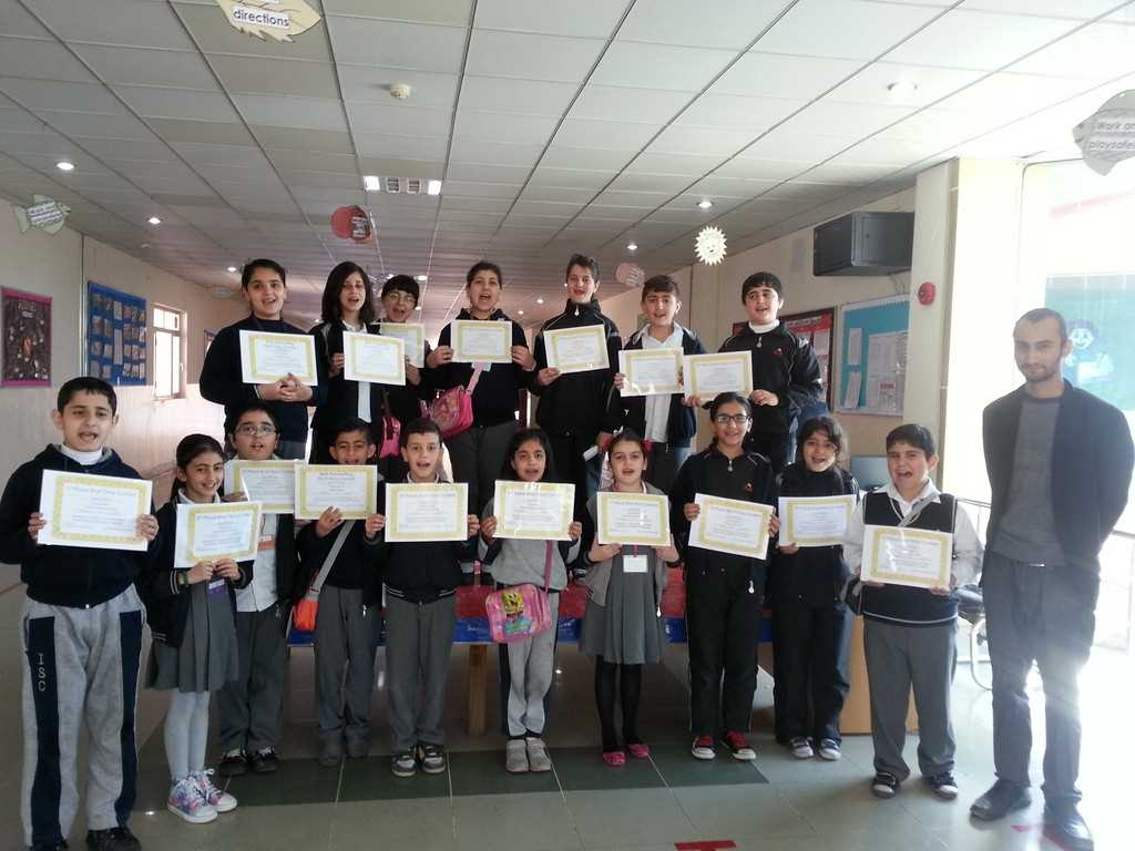 Sarwaran Students Participate in Writing Contest
