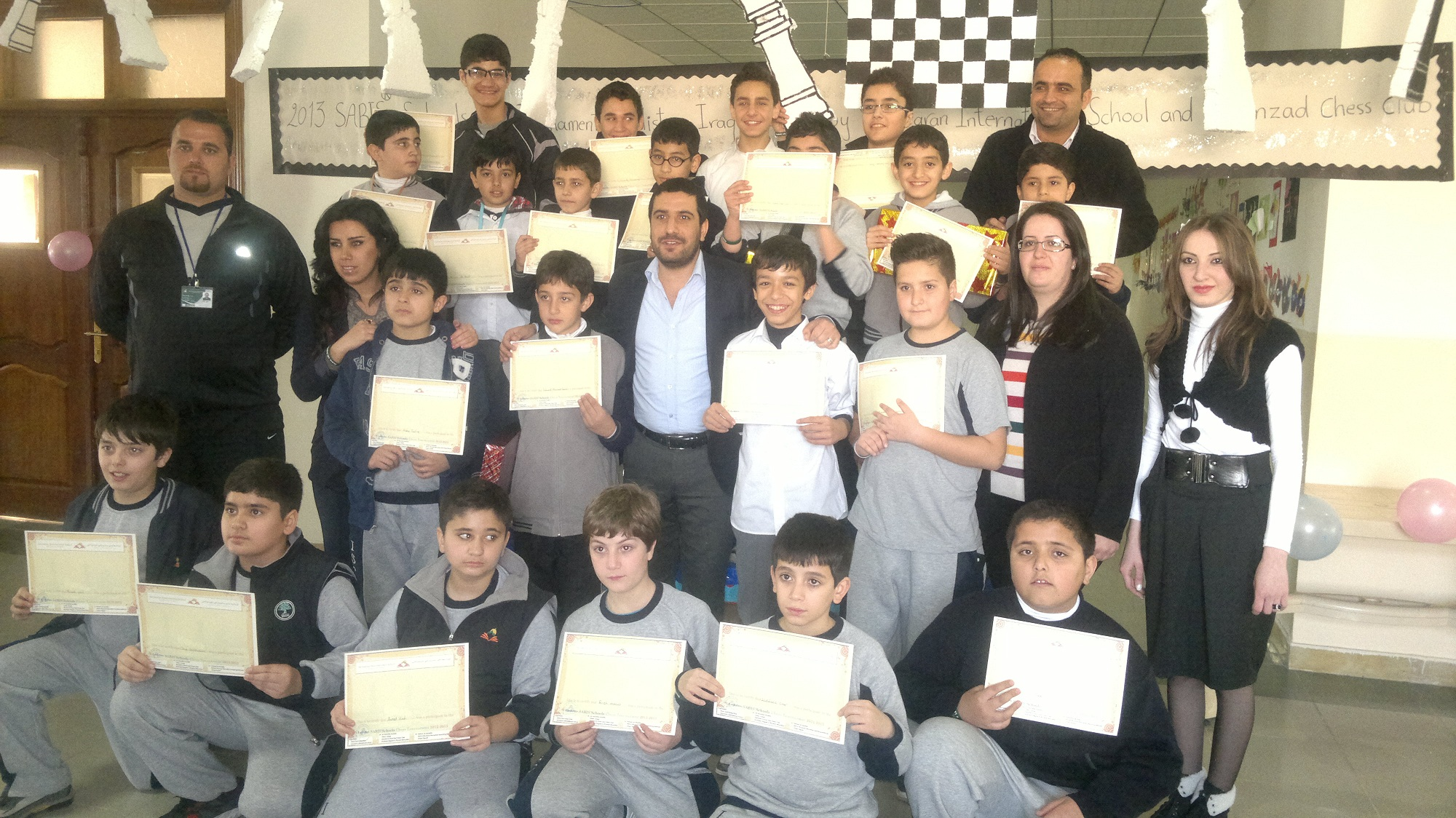 SABIS® Students Participate in Chess Tournament