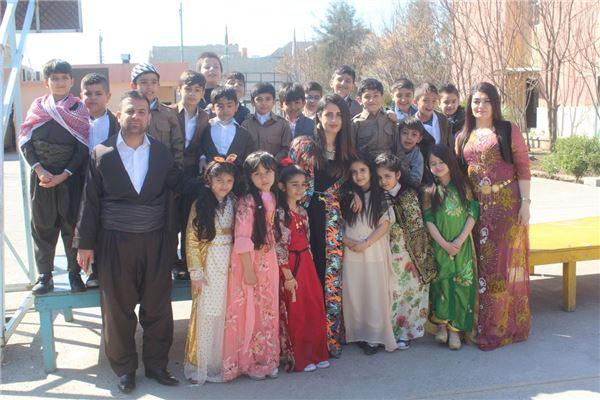 Sarwaran Students Celebrate Kurdish Clothes Day
