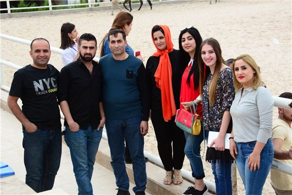 Sarwaran Students Visit Erbil International Equestrian Club