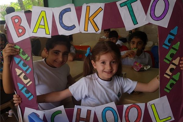 FIRST DAY BACK FOR SARWARAN STUDENTS