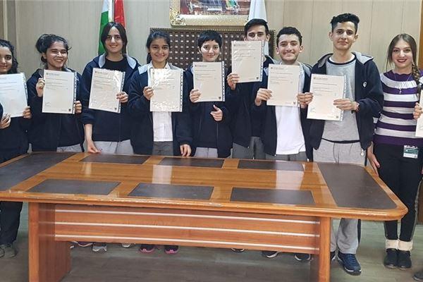 IGCSE CERTIFICATE FOR GRADE 11 STUDENTS IN SARWARAN