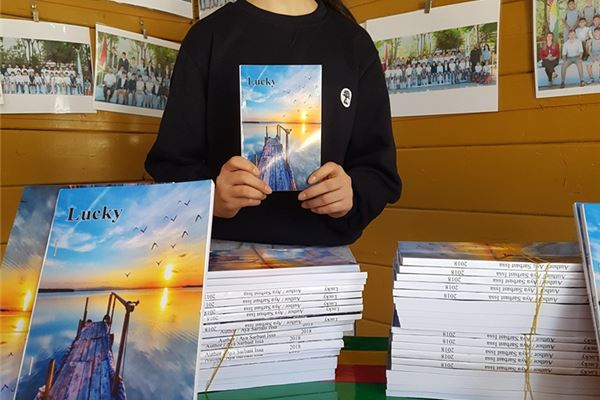 SABIS® PPP STUDENT PUBLISHES HER OWN BOOK
