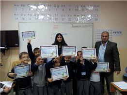 First Term Certificate Distribution at Sarwaran International School