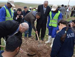 Sarwaran International School Participates in Tree Planting Ceremony with Kurdistan Regional Government