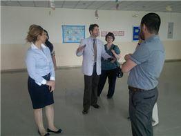 SABIS® Vice President of Operations visits Sarwaran International School